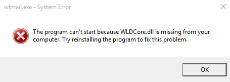 WLDCore.dll-is-Missing-Error